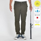 "最新作【9月20日発売開始!!】""The Colorful Break Line"" SLIM STRETCH  FISHING  CARGO PANTS  BW-403VMC OLIVE"
