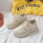 【shoes】ファッション配色切り替えスニーカー22040287