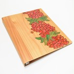 Wood File A4 【Red Ginger Lei 】