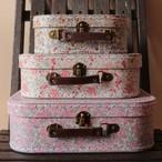花柄のトランク*スーツケース*3つセット