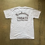 MANHATTAN TREATS #Rope Logo Tee - Wash White