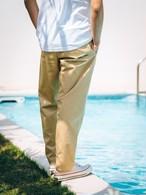 【4/7(WED)21:00 販売開始】ThreeArrows刺繍Easy pants (beige)