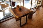 テーブル モンキーポッド材 インテリア 家具