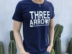 BIG THREE ARROWS Tシャツ(navy)