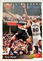 NBAカード 92-93UPPERDECK Terry Porter #109 TRAILBLAZERS
