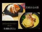 宮崎のブランド豚「まるみ豚」のスペシャルファミリーセット!