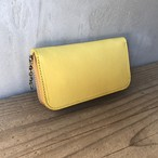 RoundZip CoinCard case ITALY Wshoulder LIMONE(黄)