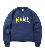 "Name.【ネーム】""NAME."" CREW NECK SWEAT SHIRT"