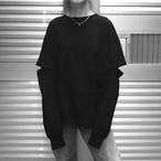 【WOMENS】エルボーレスロングスリーブ  ELBOWLESS LONGSLEEVE / Black