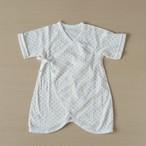 期間限定セール!【男女兼用】日本製 低出生体重児向ベビーコンビ肌着(カラフルドット)