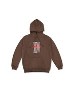 XENO URBAN GRAPHIC HOODIE Brown