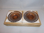 銅製図変わり茶托(10客)(No12)copper ten tea saucers(pine,bamboo,plum,orchid,chrysanthemum)