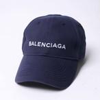 54babb70dab8b BALENCIAGA(バレンシアガ) キャップ 帽子 ネイビー ロゴ 499071 410B7 4177 r012340