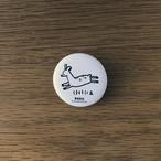 【奈良】マット缶バッジ(小)奈良の鹿寄せ