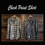 Check Paint  Shirt
