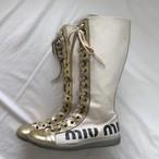 miumiu sneaker boots