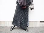 slit fril skirt