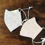 【超敏感肌さん用】お得な2枚セット 冬のあったかマスク 両面オーガニック素材。