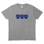 【7/22出荷】半袖Tシャツ グレー