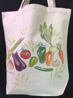 手描きトートバッグ(野菜)