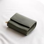 f wallet (wax khaki)