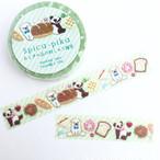 「パンダのパン屋さん(シロクマもいるよ♪)」マスキングテープ