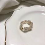 予約注文商品 パールリング リング 指輪 韓国ファッション