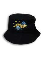 ROSE STAR BUCKETHAT black