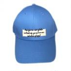Lettering Cap/Blue