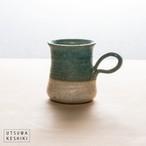 [藤原 純]マグカップ(青白)