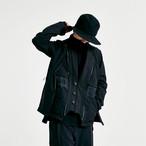 NOSUCISM 20AW  MOLLEシステムマルチポケット スタンドカラージャケット