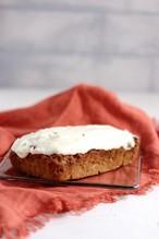 低糖質本格的なミニキャロットケーキ (16x10x3.5cm) Mini Keto Carrot Cake