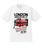 No.2020-fuyu-Tshirt002  : プレミアムT シャツ 6.2oz  ロンドンバスNEWバージョン2021