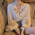 classical embroidery shirt
