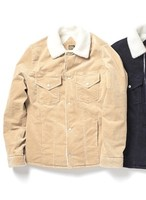 PIG&ROOSTER COUNTRY CORD BOA JK / LIGHT BEIGE