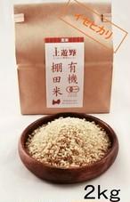 《令和2年産》有機棚田米イセヒカリ 玄米 2㎏