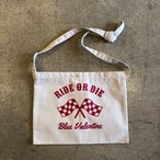 BLUE VALENTINE #RIDE OR DIE SACOCHE BAG