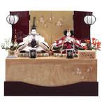 久月 雛人形収納 銘木シリーズ 216721-20