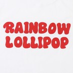 RAINBOW LOLLIPOP LOGO Tシャツ