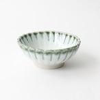 【SL-0063】磁器 11cm 小鉢 白×淡緑