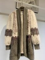 vintage angora mix jacket