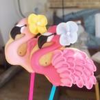 Fluffy Flamingo Pop (10本単位でご購入ください@648)