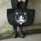 Putrid Cat Big Tote Bag Black