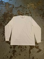 "Supreme L/S TEE ""White Color"""