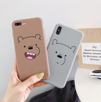 【オーダー商品】Bear iphone soft case