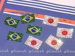 オリンピック応援しよう!SWAROVSKI国旗フェイスペイントシール