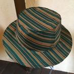 着物地のカンカン帽『ストライプ』