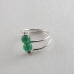 緑瑪瑙の指輪