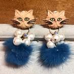 CAT pon pon ♡2way use 口髭の猫おじさん