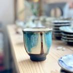 湯呑緑 ノモ陶器製作所
